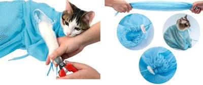 洗濯ネット 動物病院 猫 使用方法