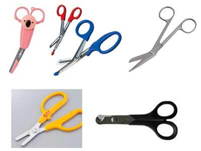動物病院で使用される剪刀(はさみ)